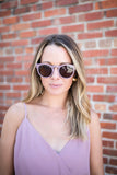 Like It Or Not Sunglasses - Mauve - A Cut Above Boutique