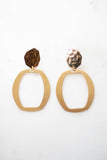You + Me Earrings - Gold - A Cut Above Boutique