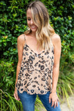On Spot Shift Tank - Leopard