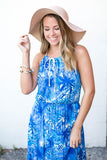 Get To The Sun Floppy Hat - Blush - A Cut Above Boutique