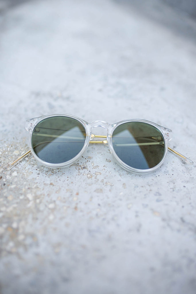 To The Max Sunglasses - Clear - A Cut Above Boutique