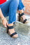 City Of Dreams Wedge - Black