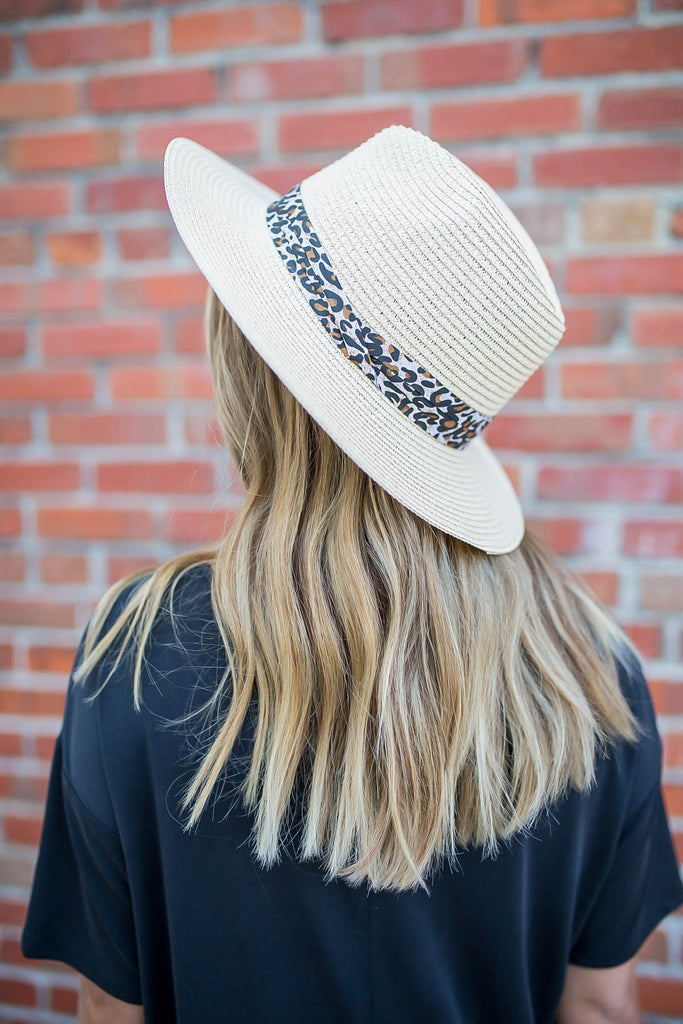 Leopard Love Hat - A Cut Above Boutique