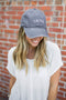 Love Tacos Baseball Hat - Charcoal