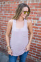 Everyday Pocket Tank - Mauve