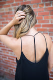 Come On Over Tank Top - Black - A Cut Above Boutique