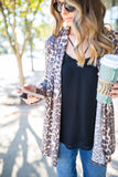Lover Of Leopard Cardigan - A Cut Above Boutique