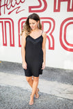 Just Like That Tank Dress - Black - A Cut Above Boutique