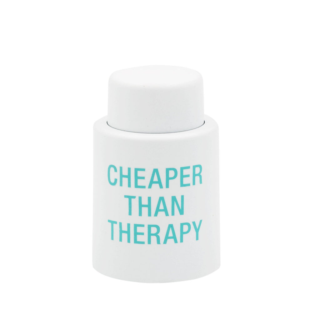 Therapy Wine Stopper - A Cut Above Boutique