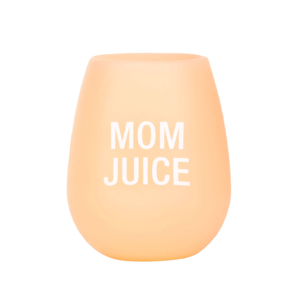 Mom Juice Silicone Wine Cup - A Cut Above Boutique