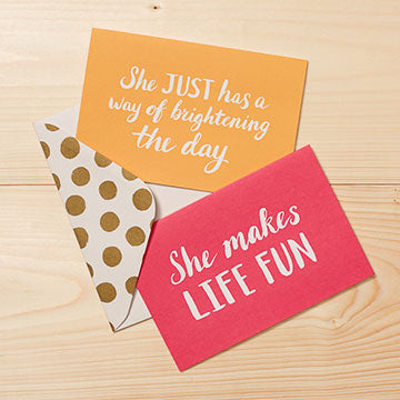 She... Boxed Note Card Set - ShopACutAbove