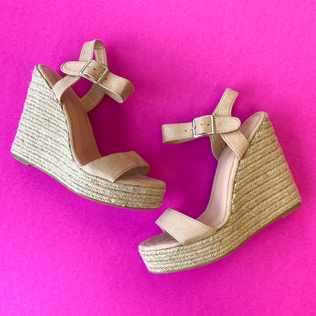 Rock It Espadrille Wedge - A Cut Above Boutique