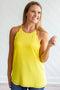 Scallop Tank - Yellow