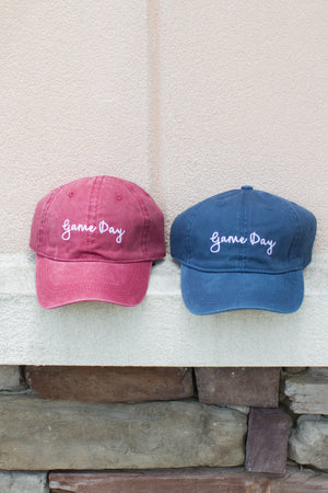 Gameday Baseball Hat (multiple colors) - A Cut Above Boutique