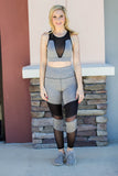 Two Time Legging - Grey