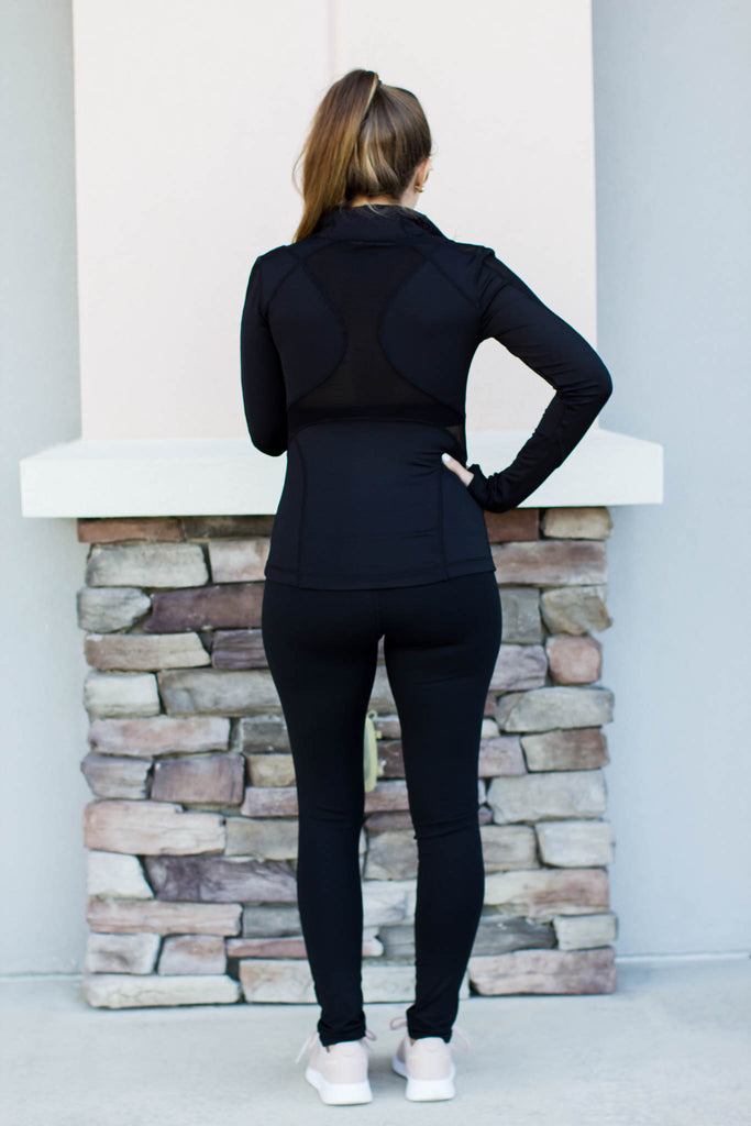 On The Run Legging - Black - A Cut Above Boutique
