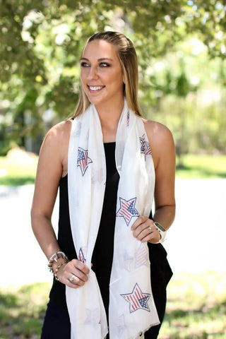 Oh My Stars Scarf - A Cut Above Boutique