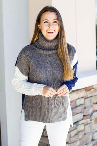 Wonder The Hills Turtleneck - Gray