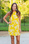 Sunshine Shift Dress - Yellow