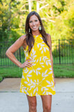 Sunshine Shift Dress - Yellow - A Cut Above Boutique