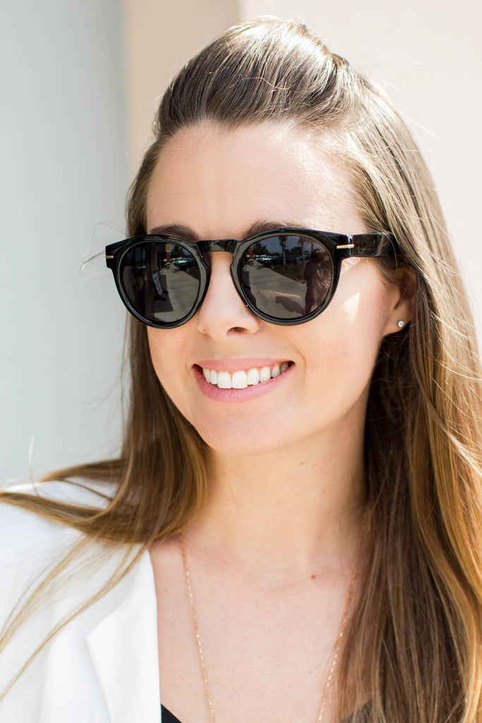 Like It Or Not Sunglasses - Black - A Cut Above Boutique