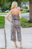 Now We Go Leopard Wide-leg Jumpsuit - A Cut Above Boutique