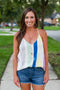 Stripe Me Down Tank - Multi