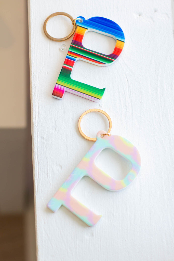 Hands-Free Door Opener Acrylic Keychains (Multiple Colors) - A Cut Above Boutique
