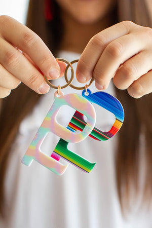 Hands-Free Door Opener Acrylic Keychains (Multiple Colors)