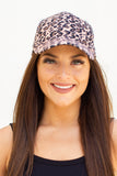 Leopard Baseball Hat - A Cut Above Boutique