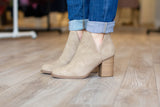 The Everyday Bootie - Light Taupe