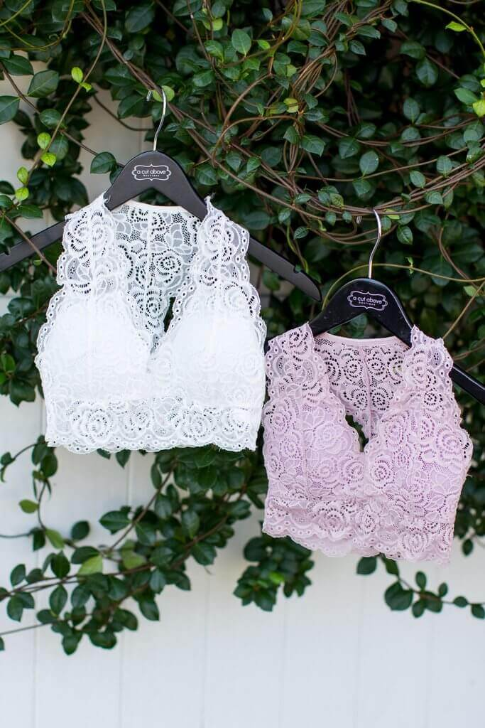 One Size Padded Lace Bra - ShopACutAbove