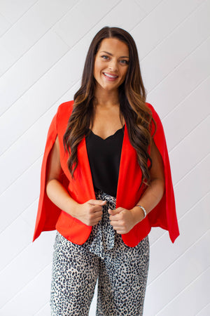 Girl Boss Cape - Red