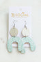 Hazel White High Rise Shorts