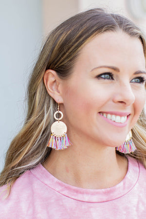Multi Fringe Earrings