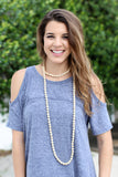 Get Like Me Beaded necklace - A Cut Above Boutique