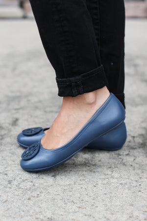 The Annabelle Flats - Royal Blue - A Cut Above Boutique