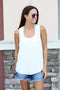 Everyday Pocket Tank - White