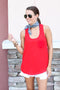 Everyday Pocket Tank - Red