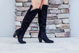 Raised On It Boot - Black