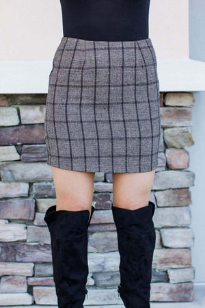 Make It Plaid Skirt - A Cut Above Boutique