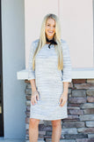 Simply Yours T-Shirt Dress - Gray - A Cut Above Boutique