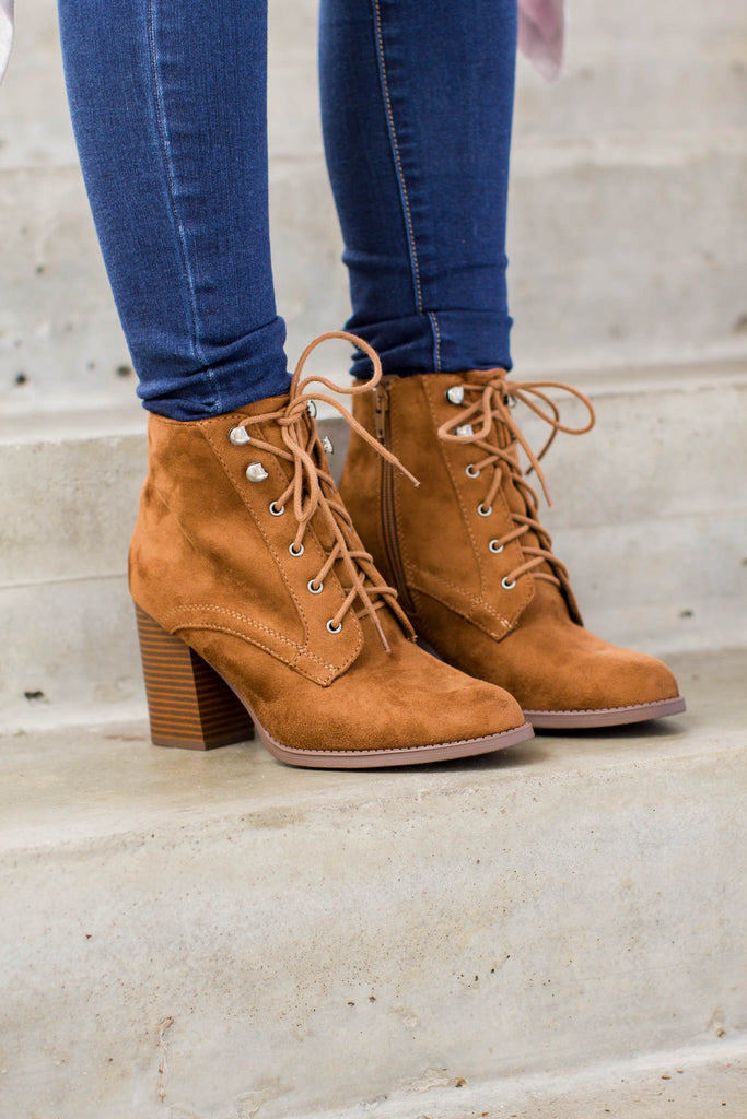 Laced Up Boot - A Cut Above Boutique