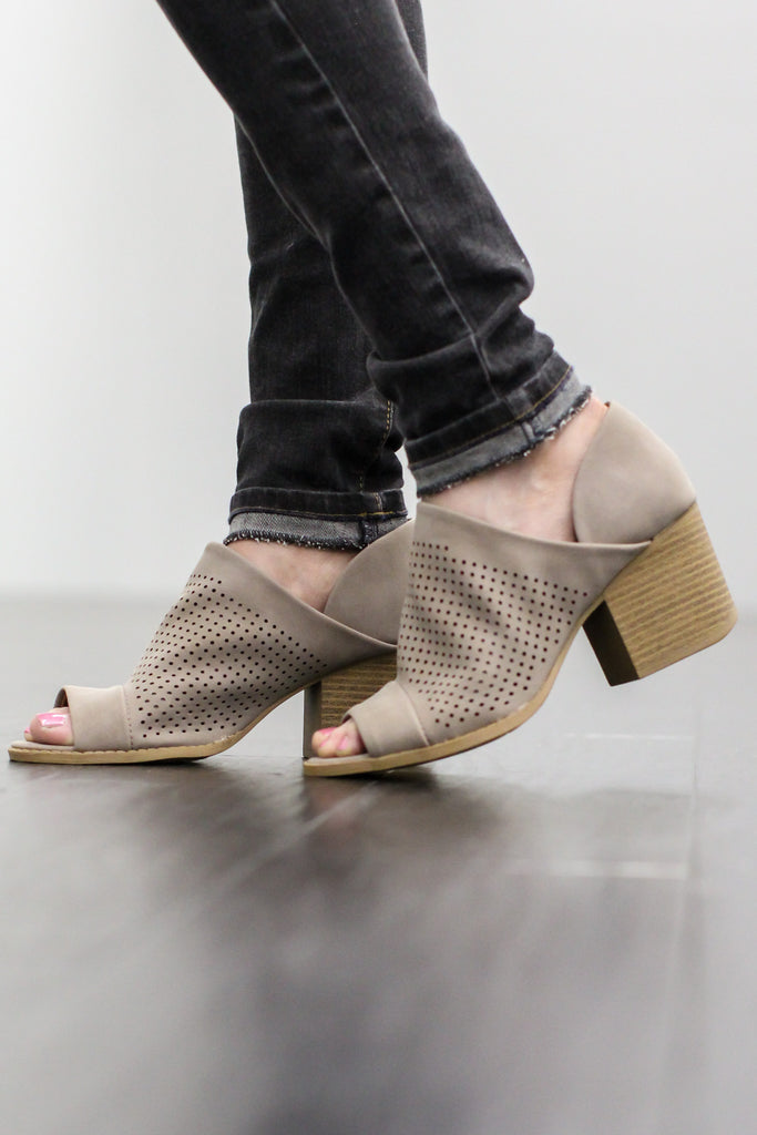 She Walks The Line Bootie - A Cut Above Boutique