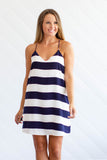 So Nauti Shift Dress - Navy + Ivory - A Cut Above Boutique