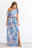 Baja Nights Maxi Dress - Lavender - A Cut Above Boutique