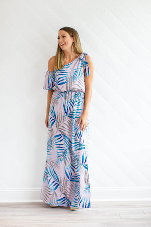 Baja Nights Maxi Dress - Lavender