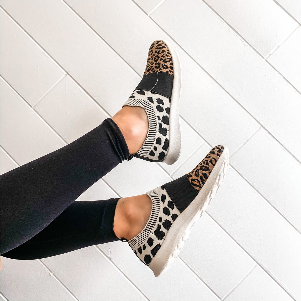 With Sass Leopard Sneaker - A Cut Above Boutique