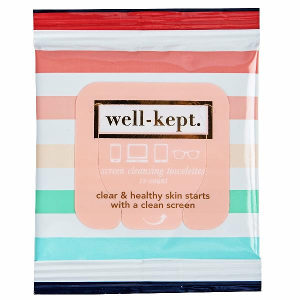 Well Kept Screen Cleansing Towelettes - A Cut Above Boutique