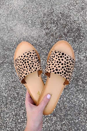 Slip On Over Slide - Cheetah - A Cut Above Boutique